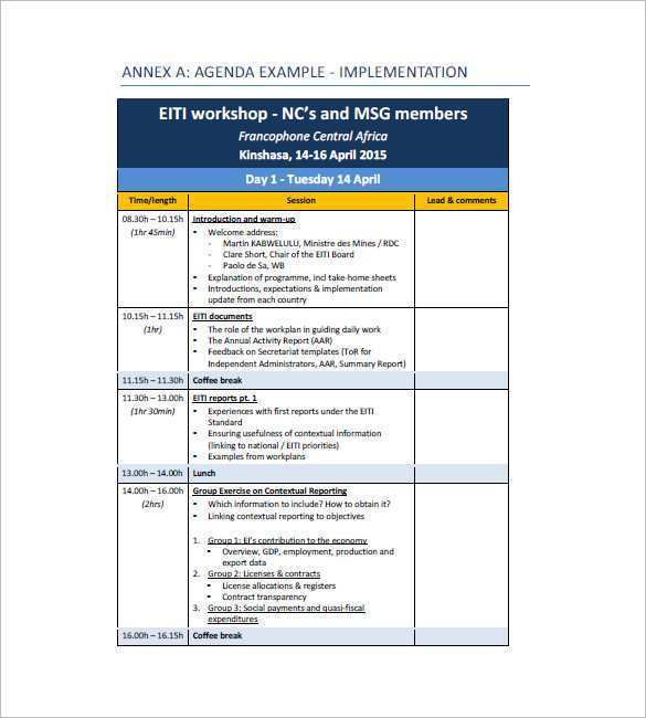 In each meeting, records are kept, the minutes are jotted down, a list of those in attendance is drafted, and those who are absent are also noted. 33 Customize Seminar Agenda Template Word By Seminar Agenda Template Word Cards Design Templates