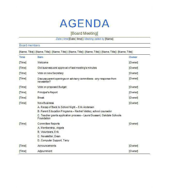 Infographic templates with plenty of agendas. 47 Creative Meeting Agenda Template Psd Maker By Meeting Agenda Template Psd Cards Design Templates