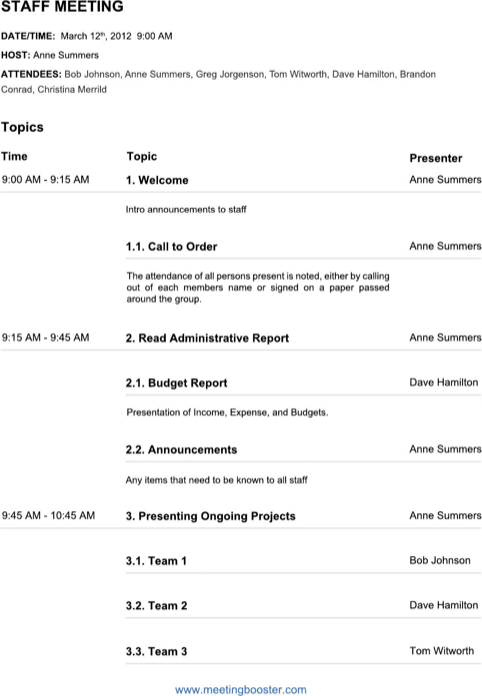 Here are some steps you can take when setting a meeting agenda. 60 Creative Team Meeting Agenda Template Now With Team Meeting Agenda Template Cards Design Templates