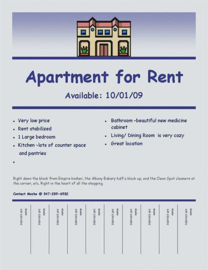 Apartment For Flyer Template Free