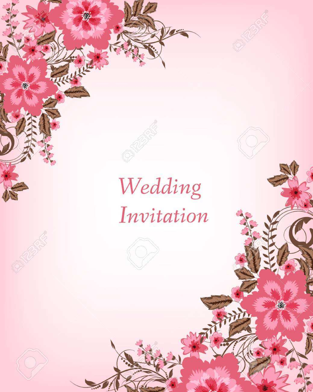wedding invitations card background