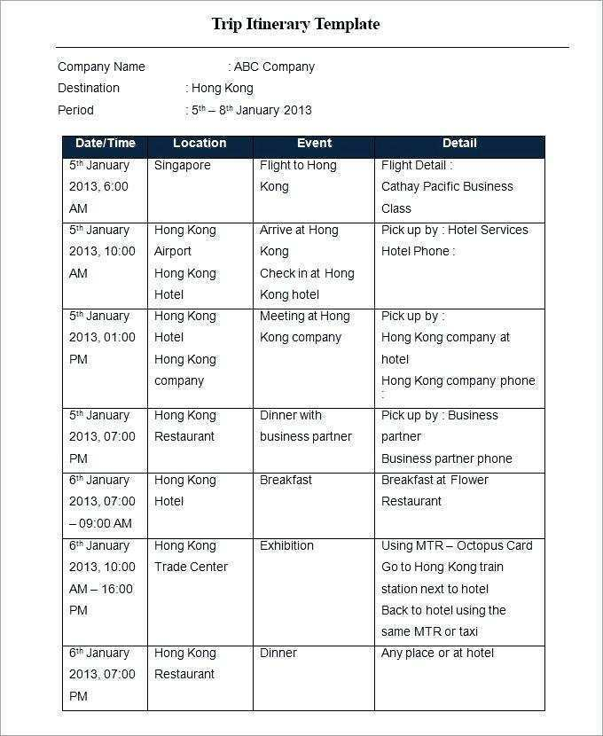 (opens in a new tab or window) cream travel itinerary planner. 72 Creating Business Travel Itinerary Template Excel Templates For Business Travel Itinerary Template Excel Cards Design Templates