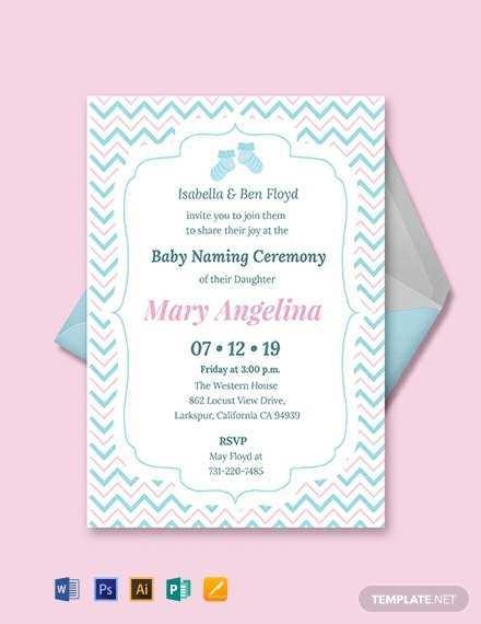 81 blank invitation card format naming