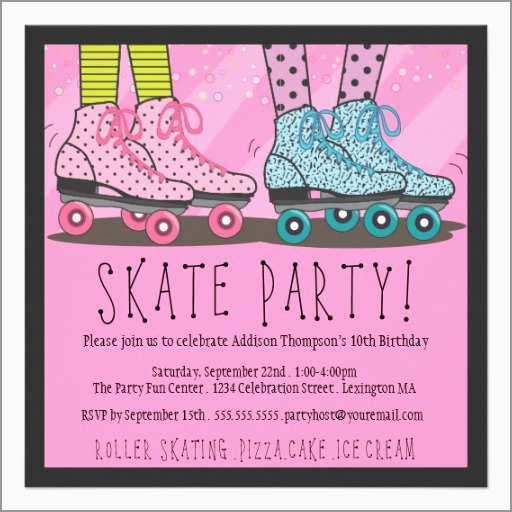 48 the best roller skating birthday
