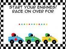 29 standard race car birthday