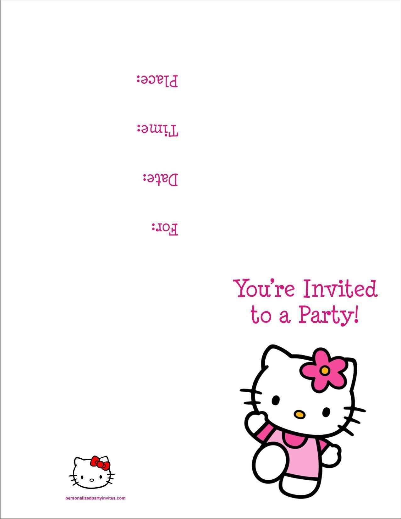 85 visiting 7th birthday invitation