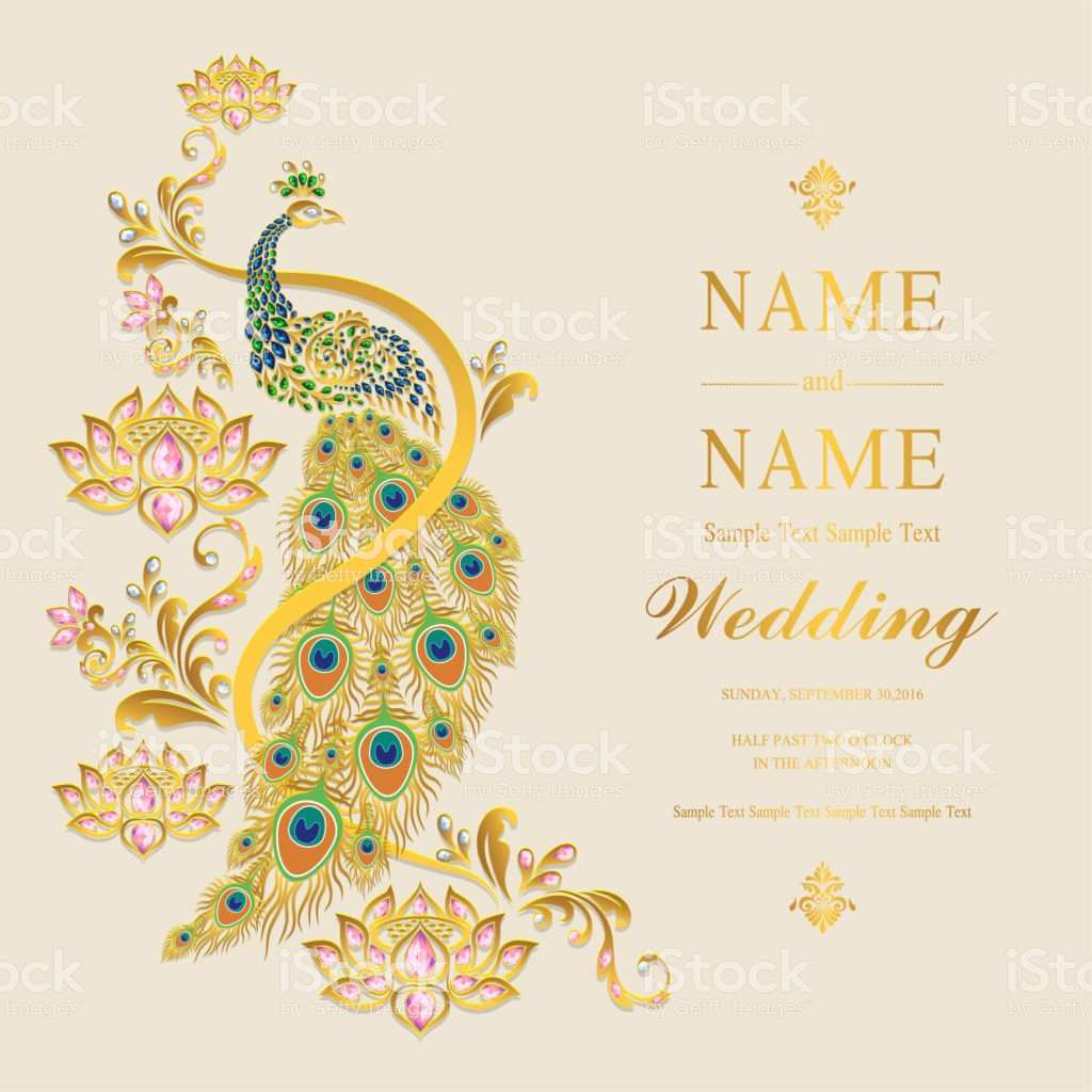 Indian Wedding Invitation Template Free Download Cards Design Templates