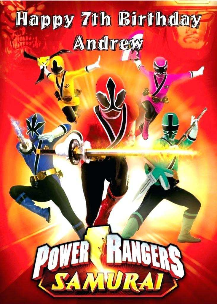 12 best power rangers birthday