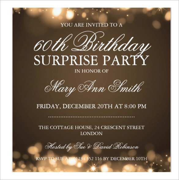 editable birthday invitation template