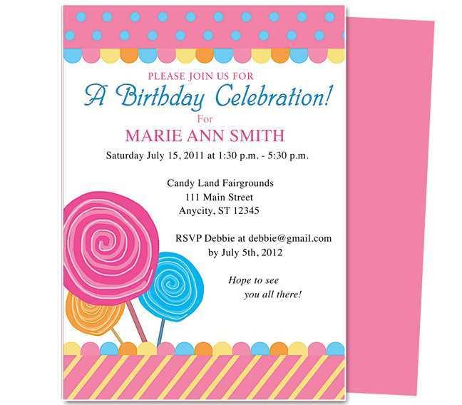 21 creative birthday party invitation