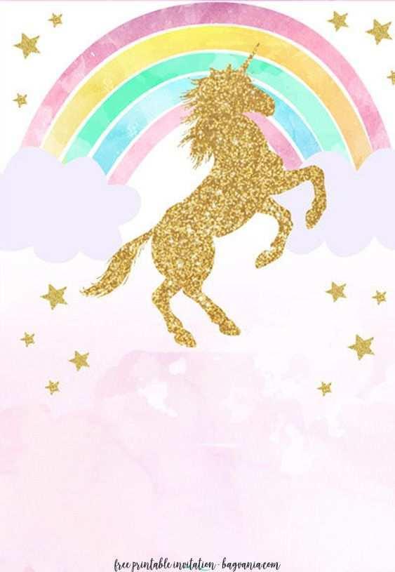 23 printable unicorn theme birthday