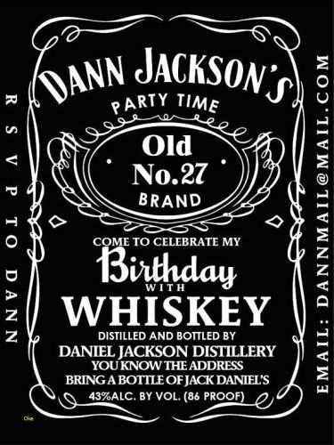 32 visiting jack daniels party