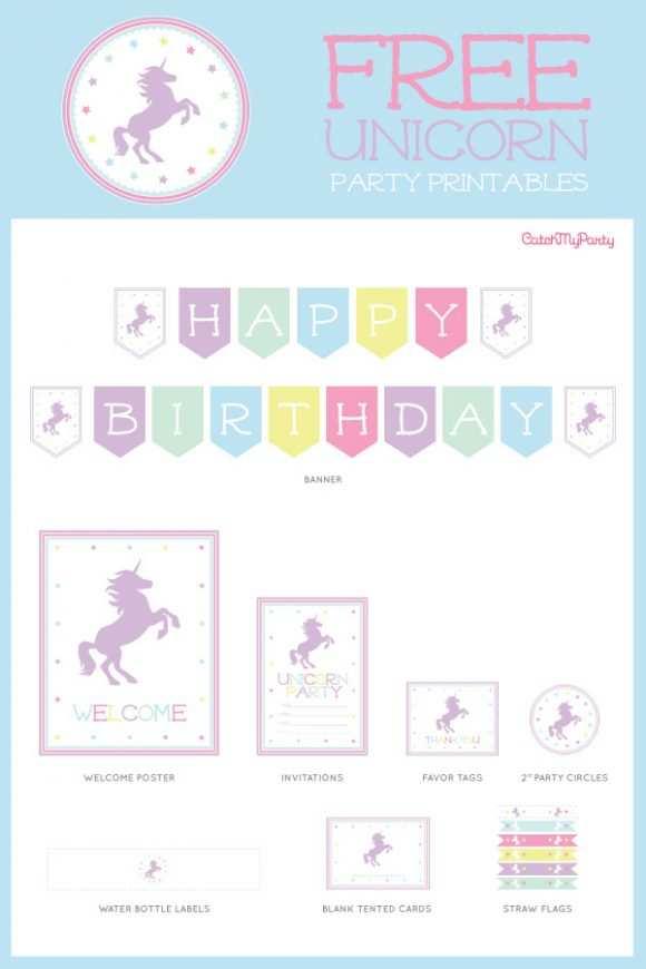 33 adding unicorn theme birthday
