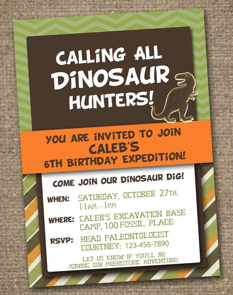 https legaldbol com dinosaur party invitation template free