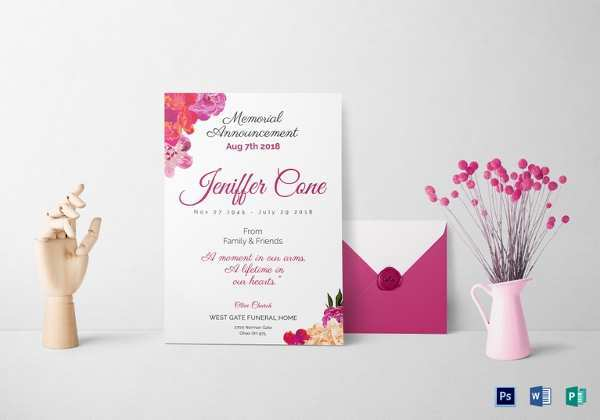 43 Free Elegant Funeral Invitation