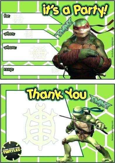55 adding ninja turtle birthday