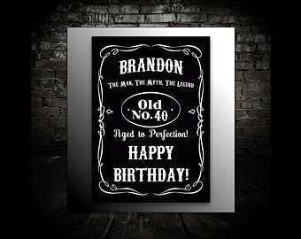 71 standard jack daniels birthday