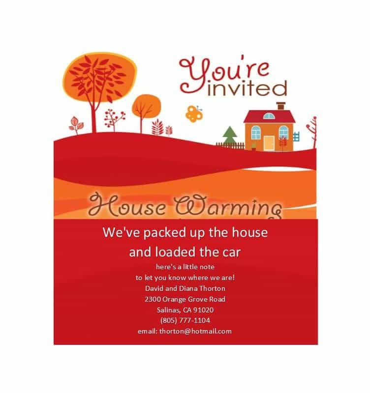 housewarming invitation blank template