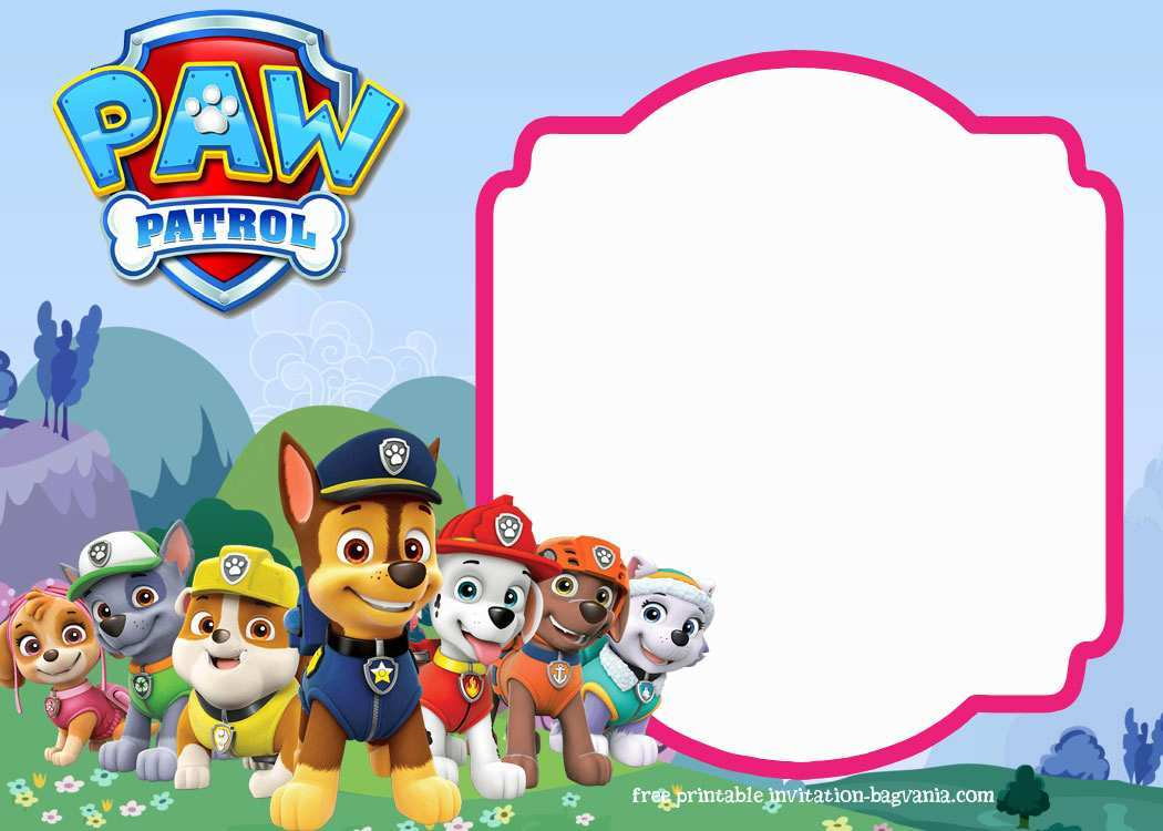 88 printable paw patrol birthday