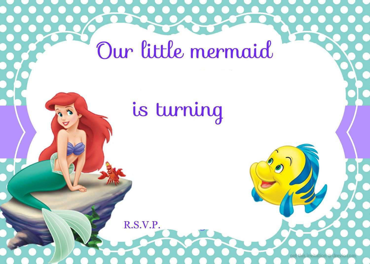 94 free printable little mermaid