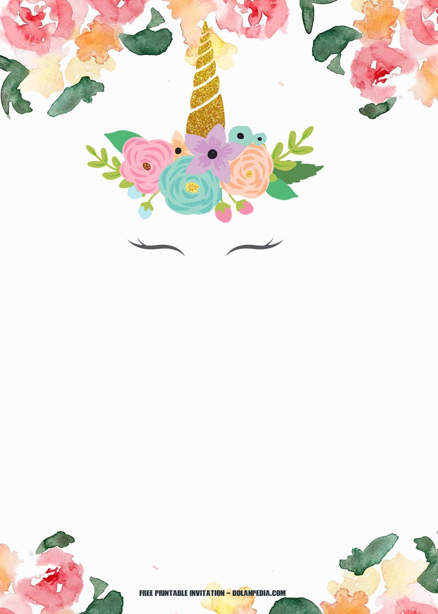 98 creating unicorn party invitation