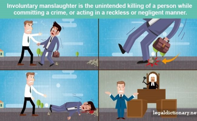 Involuntary Manslaughter Definition Examples Cases
