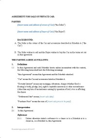 Personal  Sale Contracts   New Zealand Legal Documents ...
