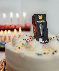 Muha meds wedding cake