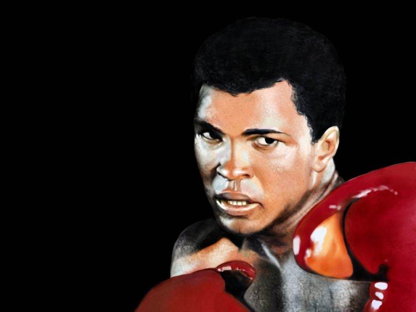 Muhammed Ali gardını almış