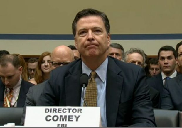 Image result for photo of president trump and comey