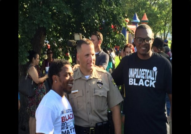 Image result for BLM Wichita Police
