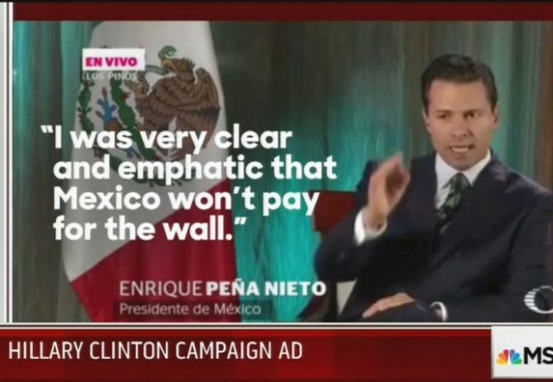 Image result for president mexico wall
