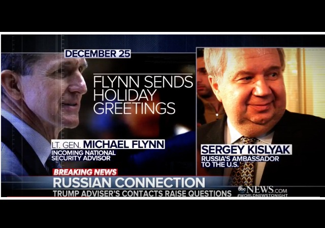 Image result for IMAGES OF FLYNN KISLYAK TRUMP