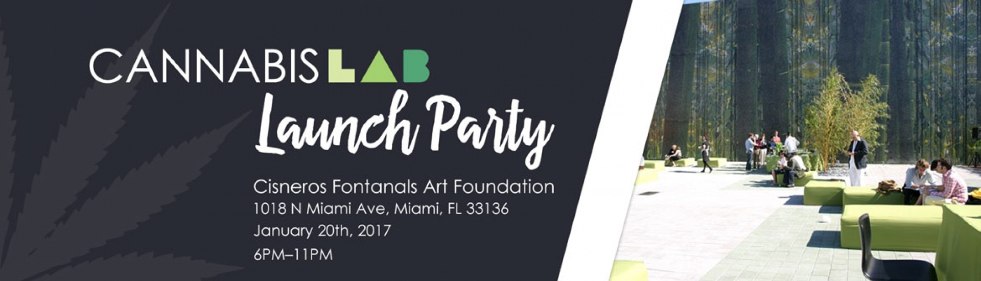 Cannabis LAB Launch Party