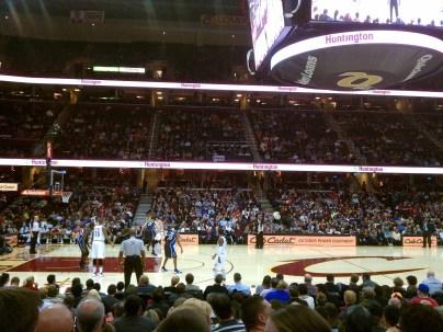 First ever Cavs game -- Cavs v. Orlando Magic.