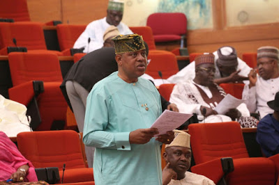 Bill for an Act to repeal the Nigerian Postal Service Act by Senator Gbenga Ashafa