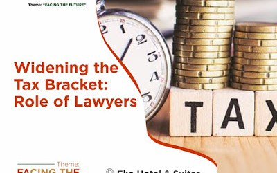 Widening the Tax Bracket : Role of Lawyers.