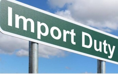 PAYMENT OF IMPORT DUTY ON GOODS/PERSONAL EFFECTS CONTAINED IN A PASSENGER'S BAGGAGE IS UNLAWFUL