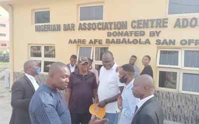 The result of NBA Election Ado – Ekiti Branch held today 16th of June, 2020