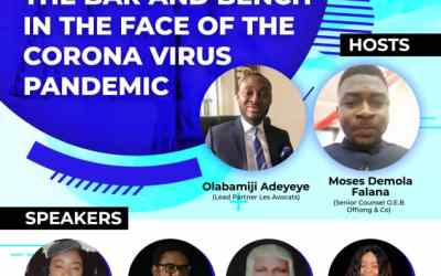 Register for the Discuss on the future of the Bar and Bench in the face of the Corona Virus Pandemic