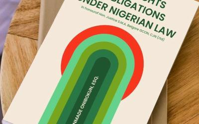 ORDER NOW: Legal Rights And Obligations Under Nigerian Laws Ebook
