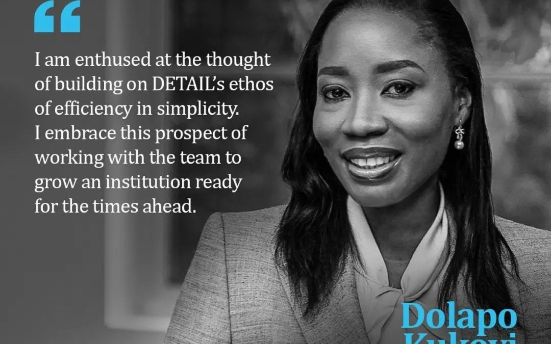 Interview With Managing Partner Of Detail Solicitors | Dolapo Kukoyi