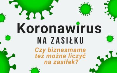 Koronawirus na zasiłku – czy biznesmama też może liczyć na zasiłek