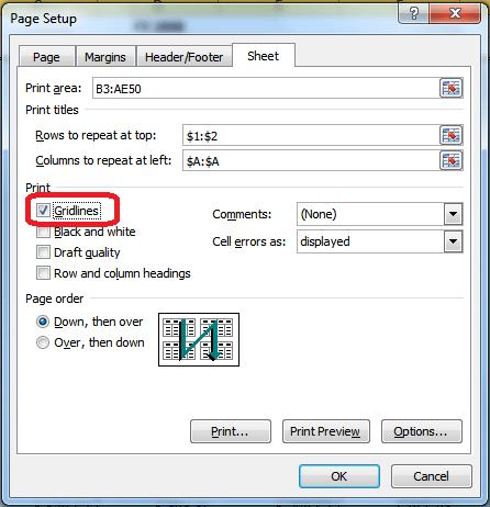 Printing those monster Excel sheets - Legal Office Guru