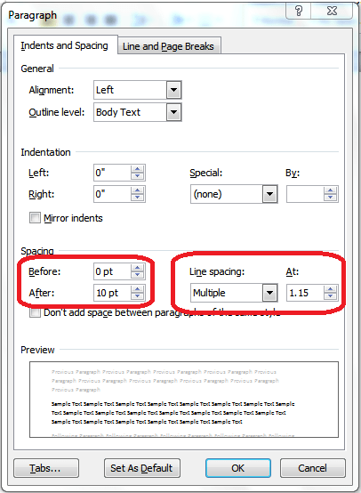 Where Is Line Spacing In Word : where, spacing, What's, 2007/2010, Spacing?, Legal, Office