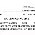How to Move an Application in a Court in Nigeria