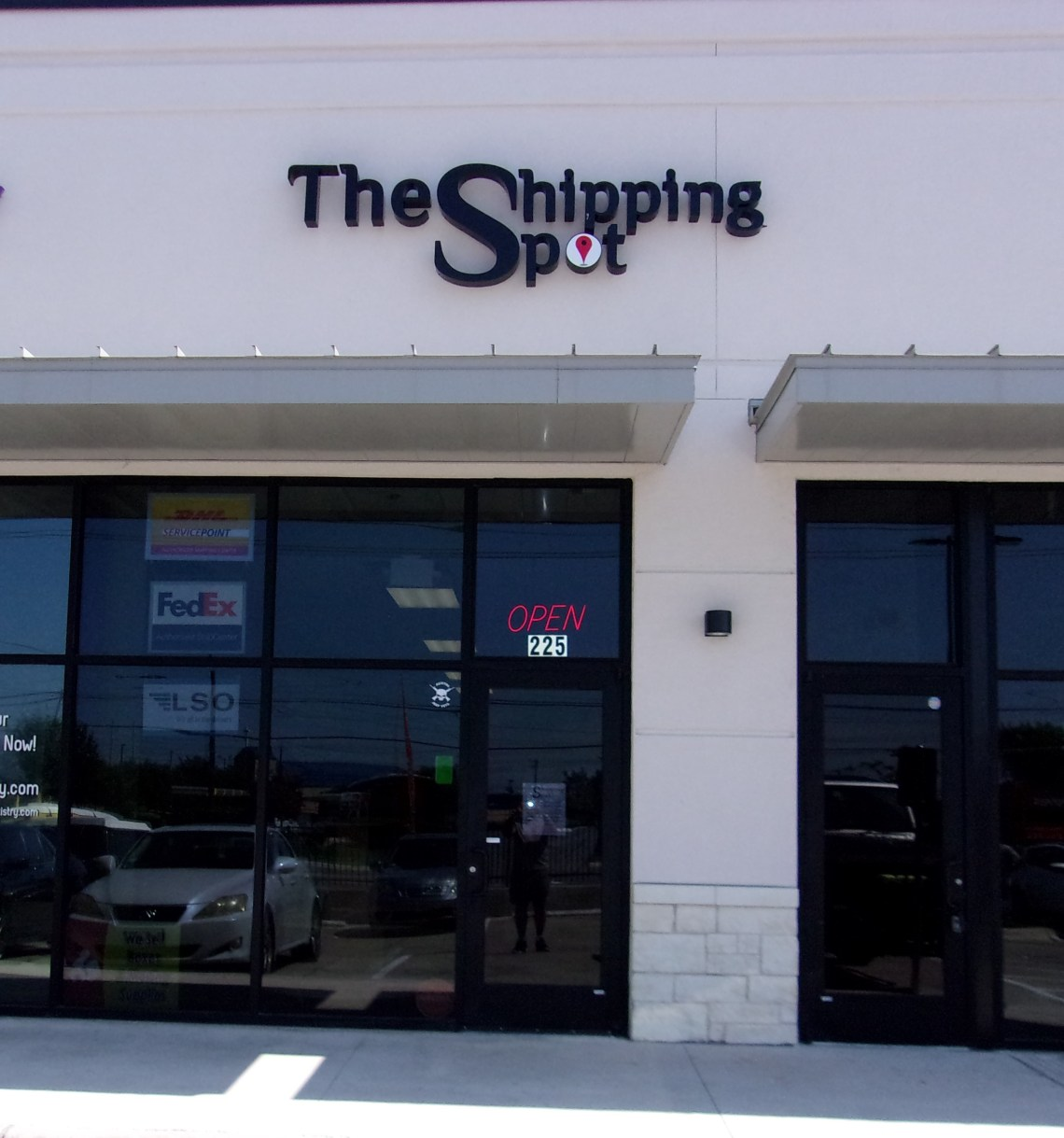 the shipping spot