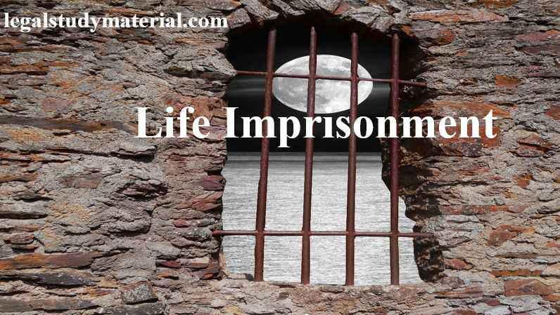 Life Imprisonment in India