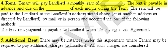 Lease Agreement - Create a Free Rental Agreement Form