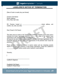 Create a Rent Increase Notice in Minutes | Legal Templates